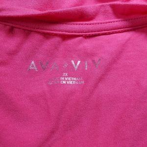 Ava & Viv Tops - 💥Just In💥Ava & Viv Cap Sleeve Tunic..Size 2X